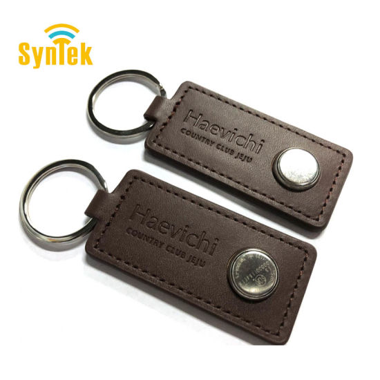 Leather TM iButton Card for Access Control Card pictures & photos