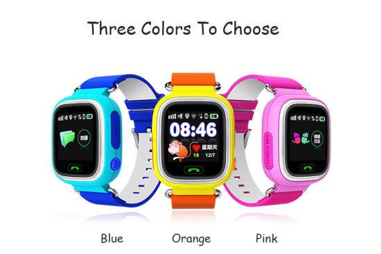 Lemfo Q90 Smart Watch Kids Sos Alarm Clock GPS WiFi Bluetooth Anti-Lost SIM  Card for Children′s Smart Watches Phone Gift