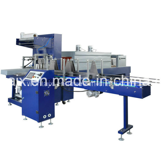 Wd-150A Automatic Low Speed L Type PE Film Shrink Wrapping Machine