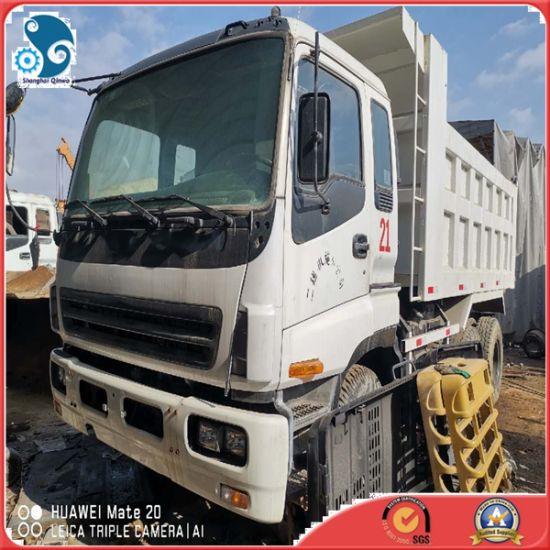 Left Steering Running Condition Japan Made Isuzu Dump Truck