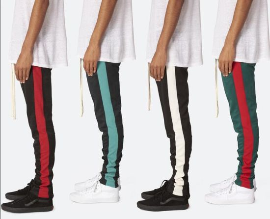 meet promo code famous brand China Contrast Side Stripe Custom Mens Track Pants - China Sports ...