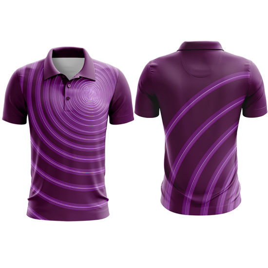 Latest Custom China Summer Breathable Solid Male Polo Shirt