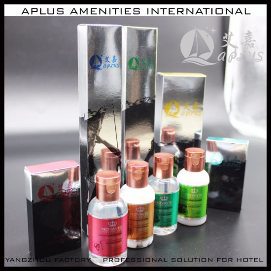2019 Aplus Wholesale Shampoo Bottle Hotel Amenities pictures & photos