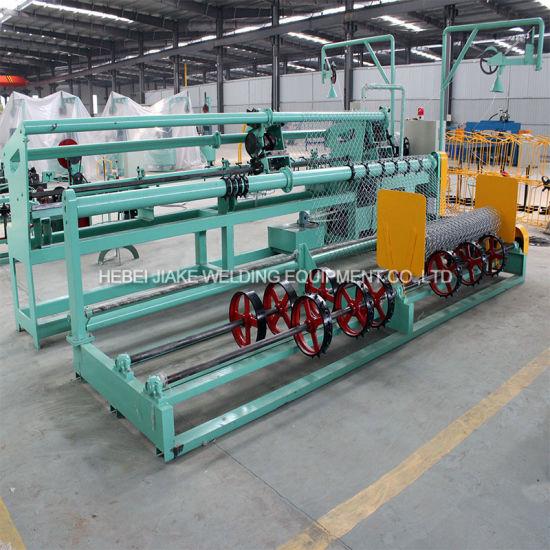 Construction Automatic Chain Link Fencing Machine Japan PLC Controller