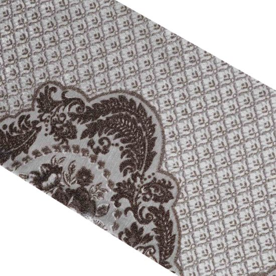High Quality 100% Polyester Jacquard Printing Fabric/Sofa Fabric/Upholstery Fabric African Velvet Fabric