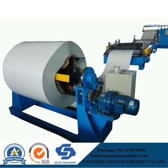 PPGI Steel/Metal Hot Roller Coil Slitting Machine