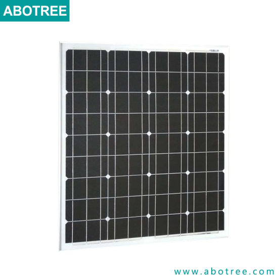 Solar Energy 100W Mono Solar Panel in China pictures & photos