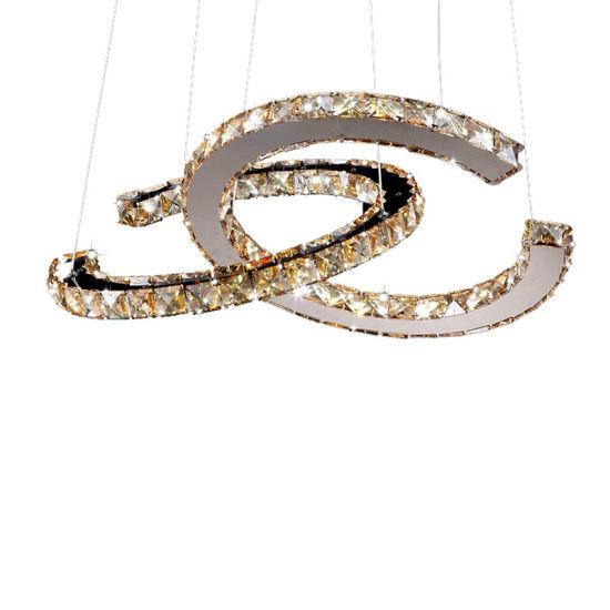 LED Decorative Lighting Crystal Chandelier with K9 for Indoor Decoration