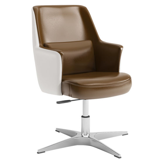 Astounding High Back Accent Chair In Leather Cover With Padded Ibusinesslaw Wood Chair Design Ideas Ibusinesslaworg