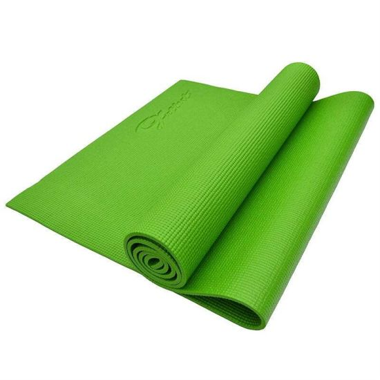Customized Logo Colorful 4-10mm Thickness PVC Yoga Mat (nontoxic)