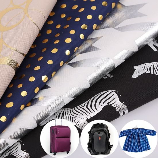 Wholesale 100% Polyester Cationic Jacquard Double Colors Effect High Quality Lining Fabric in Coat or Jackets