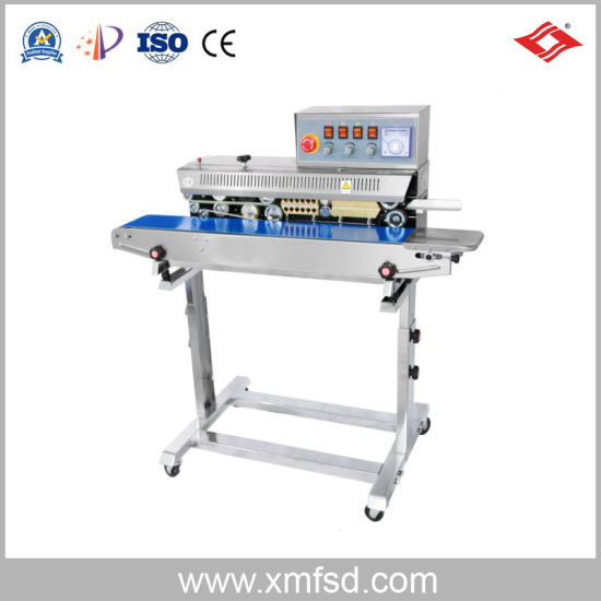 Packaging Machinery Ink Wheel Color Printing Continuous Sealing Machine