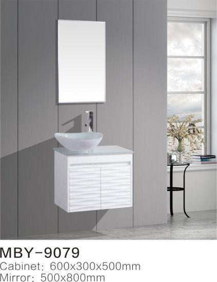 China 600mm Wall Hung Bathroom Cabinet High Gloss Painting Bathroom Furniture High Quality Bathroom Vanity China Bathroom Cabinet Pvc Bathroom Cabinet