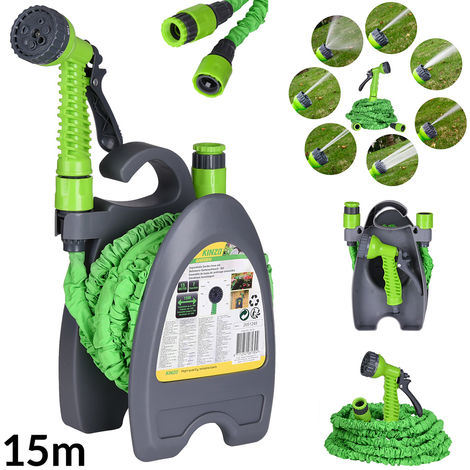 50FT Flexible Water Hose Set with Hand Reel