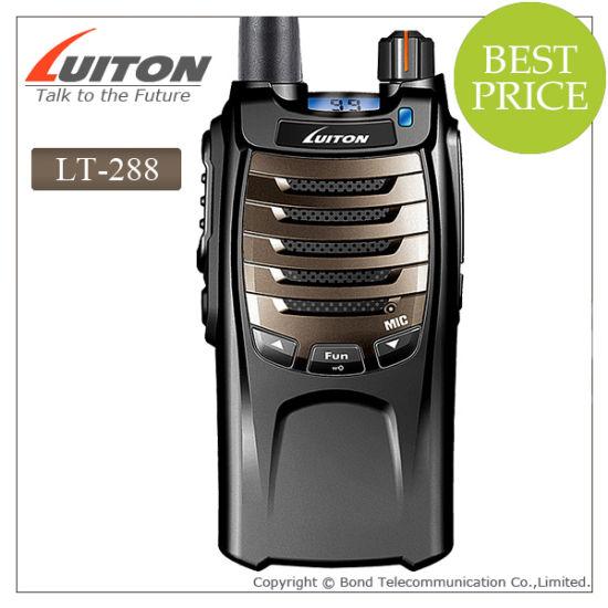 Handheld Type Ham Radio Lt-288 VHF/UHF Transceiver