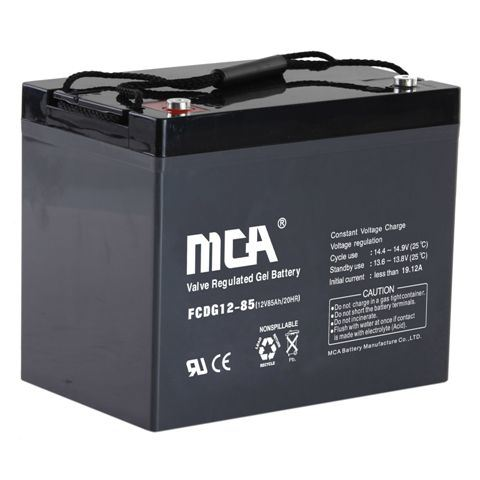 Solar Battery Deep Cycle Rechargeable Battery-12V85ah