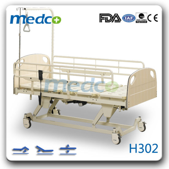 Movable Hospital Nursing Furniture, Electric Home Care Bed for Patient