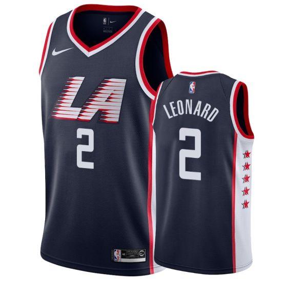 new product 02546 b0074 La Clippers Jerseys 2 Kawhi Leonard Basketball Jerseys