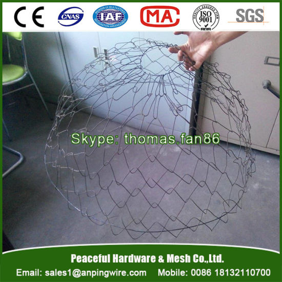 China Wire Tree Rootball Mesh Basket for Tree Transplant
