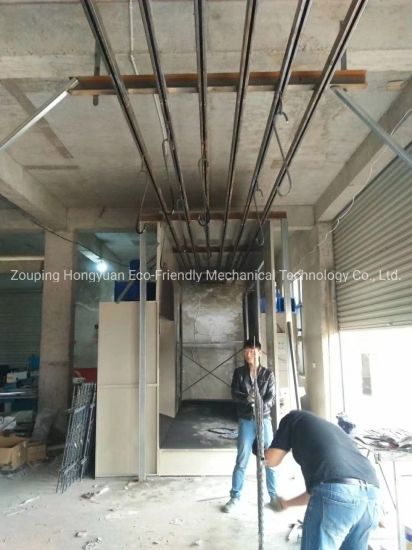 Industrial Oven for Powder Coating Application Use with Gas Burner