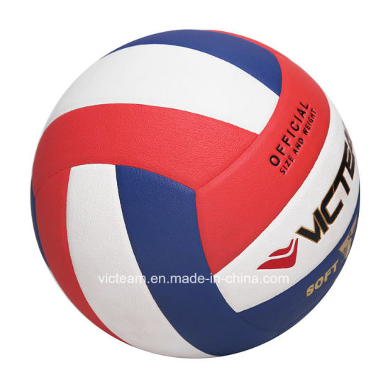 Training Grade Rough Surface Non-Slip Volleyball pictures & photos