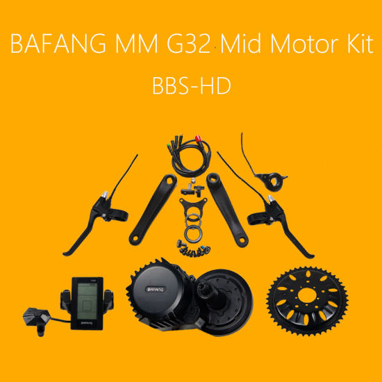 China 48V 1000W MID Drive 100mm Electric Bicycle Kit - China