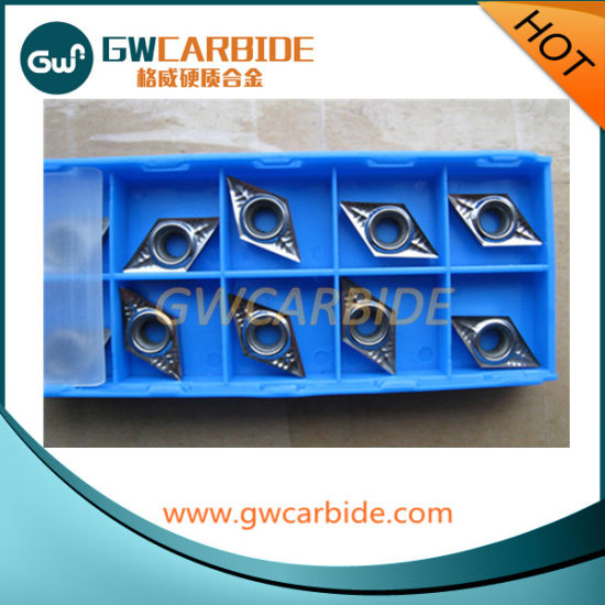 Customized of Carbide Indexable CNC Inserts for Aluminium pictures & photos