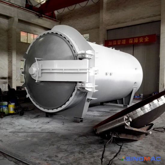 2650X5000mm ASME Approved Safety Laminated Glass Autoclave (SN-BGF2560) pictures & photos