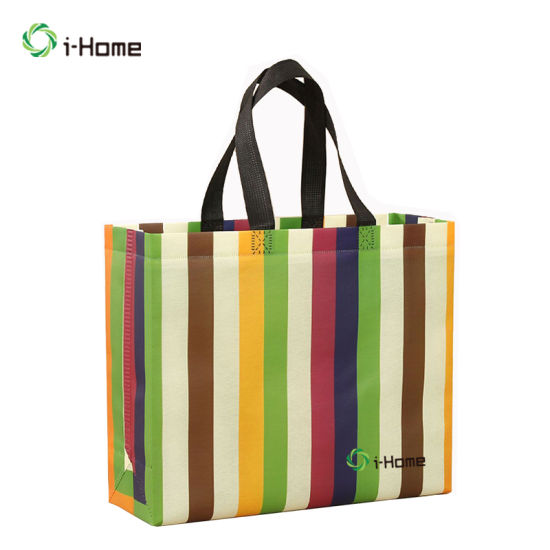 Customized Friendly Nonwoven Grocery Shopping Recyclable Reusable Laundry Non-Woven Bag