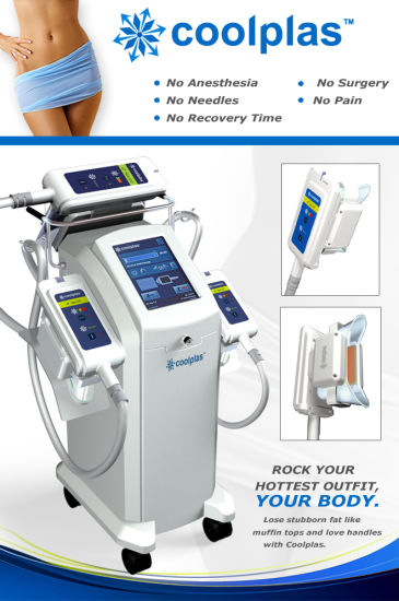 Cryolipolysis Fatfreezing Fat Melting Body Slimming Cryo Coolsculpting Coolplas Body Slimming Beauty Machine Fat Freezing Kryolipolysis pictures & photos