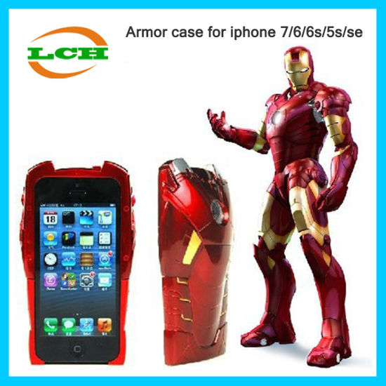 China 3D Iron Man Calling Flash Armor Hard Phone Case for iPhone 7 ...