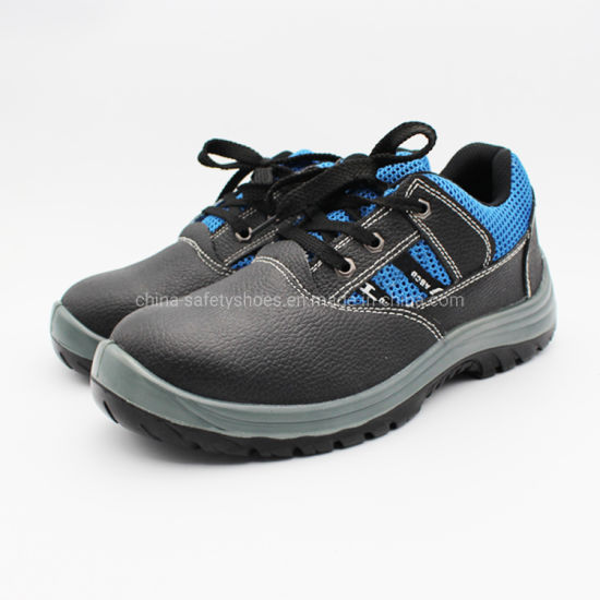 Double PU Injection Safety Shoes Outsole Safety Work Shoes pictures & photos