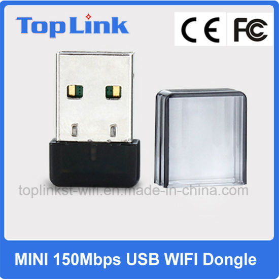 Good Price Mtk 802.11n Mini 150Mbps USB External WiFi Adapter for Retail Popular Selling pictures & photos