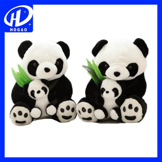 "8"" Cute Kids Plush Toy Doll Stuffed Animal Panda Pillow Quality Bolster Gift"
