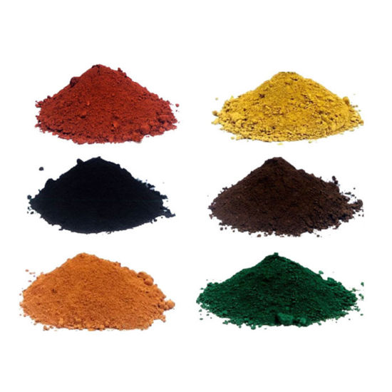 Factory Direct Sale Pigment Yellow Iron Oxide for Color Tiles pictures & photos