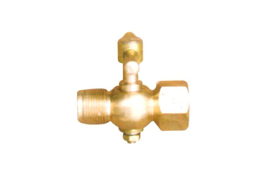 CNC Machined Bronze Pressure Gauge Valve by Drawings pictures & photos