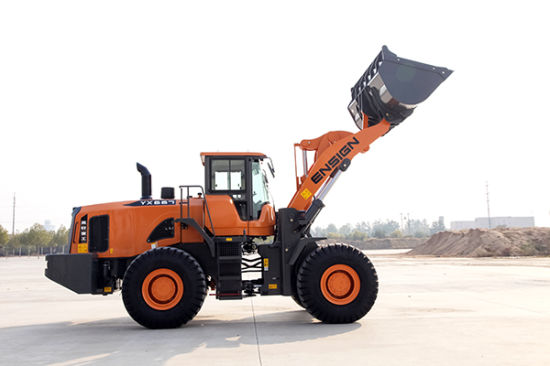 Top Brand 6 Ton Big Loader Yx667 with Rops & Fops Cabin pictures & photos