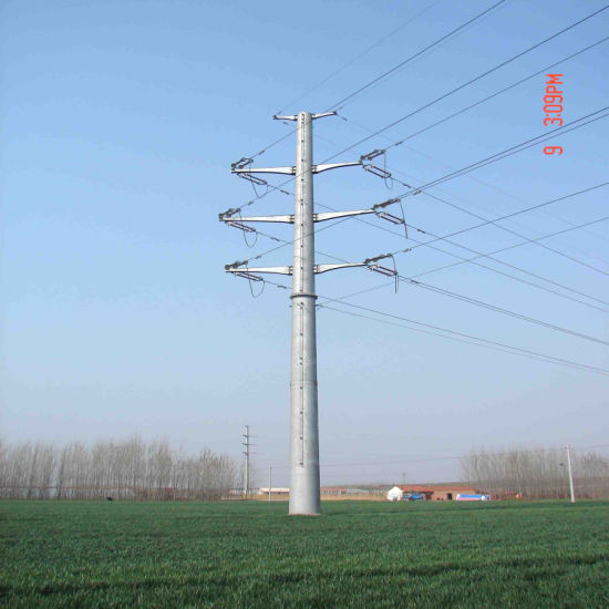 110kv Monopole, Transmission Tower for Pakistan Project