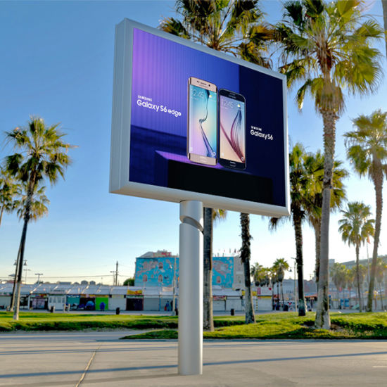 Big Size Giant LED Advertising Display P6 P8 P10 Outdoor LED Screen