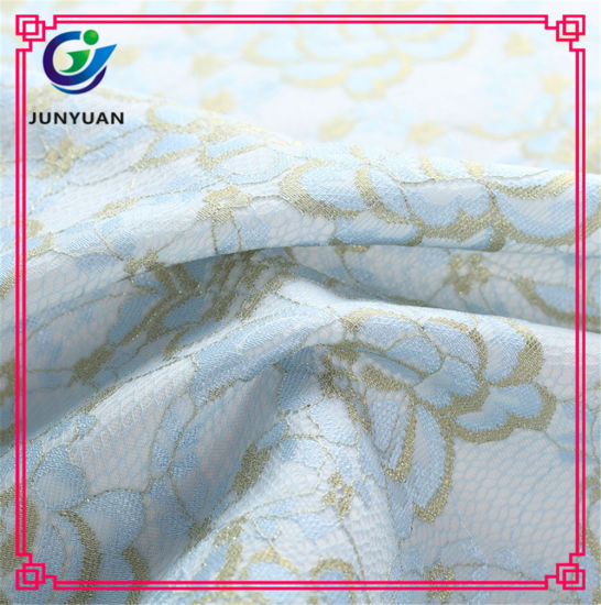Polyester Chemical Lace Fabric Hot Sale for Women