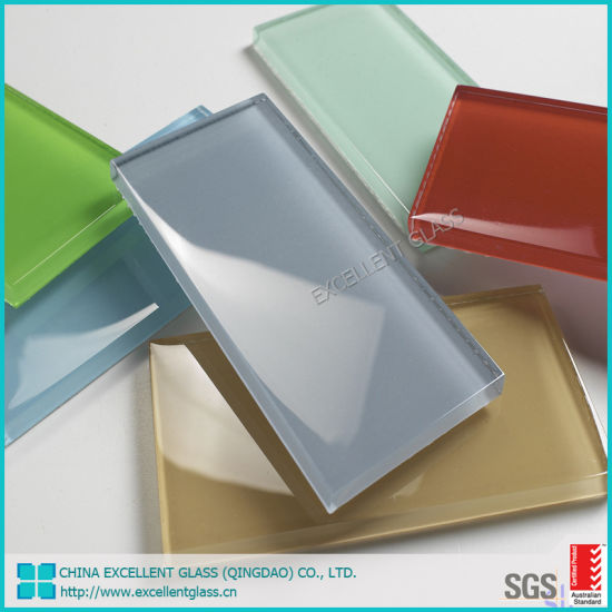 Factory Price 6mm Tempered Back Painted Glass for Wall Rectangular Back Painted Tempered Glass Panel with Customized Logo