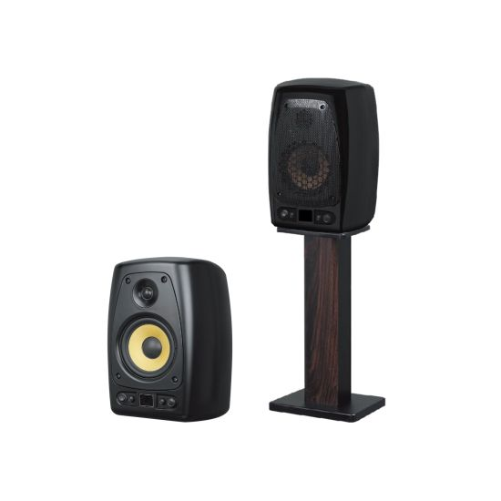 PRO Audio 100W 6.5 Inch 2-Way Active Studio Monitor PA Loud Speaker for Stage, Theatre, School, Home and Karaoke