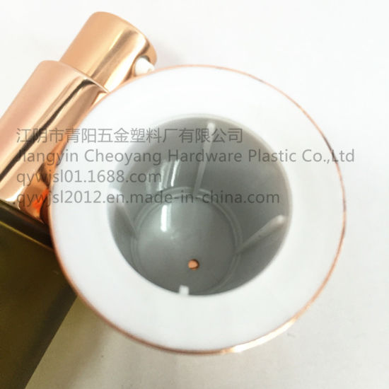 Wholesale Golden Aluminum-Plastic Outer Cover Caps for Lotion Glass Bottles pictures & photos