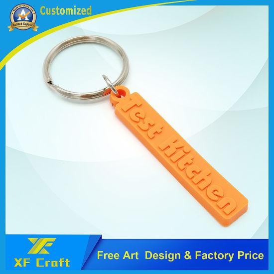 Customized 2D/3D Soft PVC Rubber Key Chain for Souvenir (KC-P05)