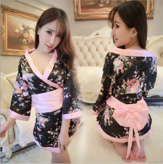 China Sexy Japanese Uniform Kimono Lingerie Student Pajamas - China ... cd5569356