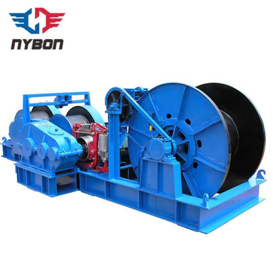 Electric Constant Speed Double Drum Shunting Winch 20ton pictures & photos
