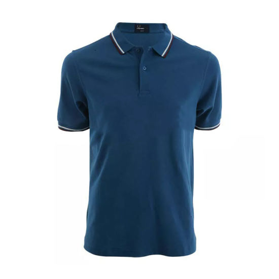 Healong Heat Transfer Printing Custom Logo Polo Sport Men's Wholesale Polo T Shirt