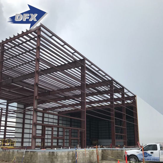 Modular Construction Industrial Fast Prefab Steel Frame Metal Warehouse Building pictures & photos