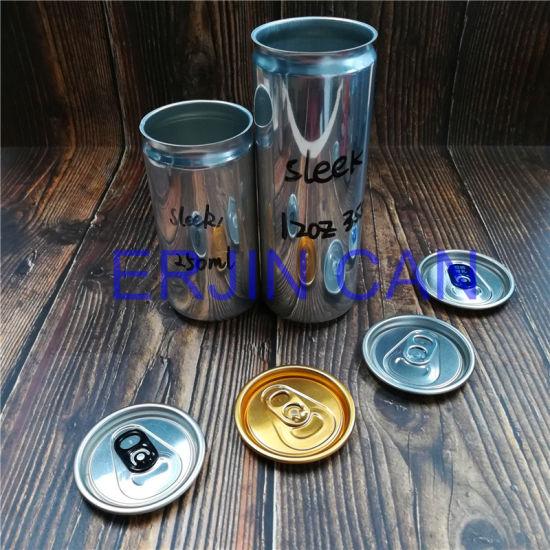 Aluminum Can Sleek Slick Fit Slim Stubby Standard 250ml 8.3oz 8.4oz 12oz 355ml Can for Energy Drink Beverage