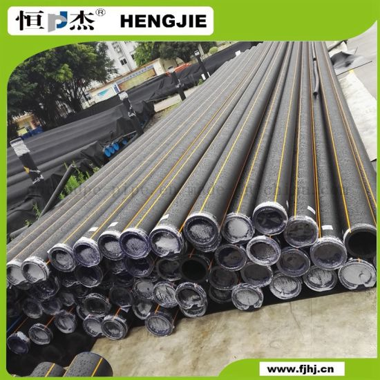 HDPE Pipe for Gas Supply Grade PE100
